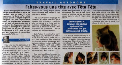 le Développement de Lévis - Têtu-Têtu