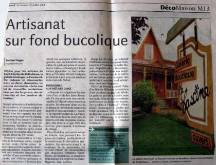 Journal Le Soleil - Têtu-Têtu
