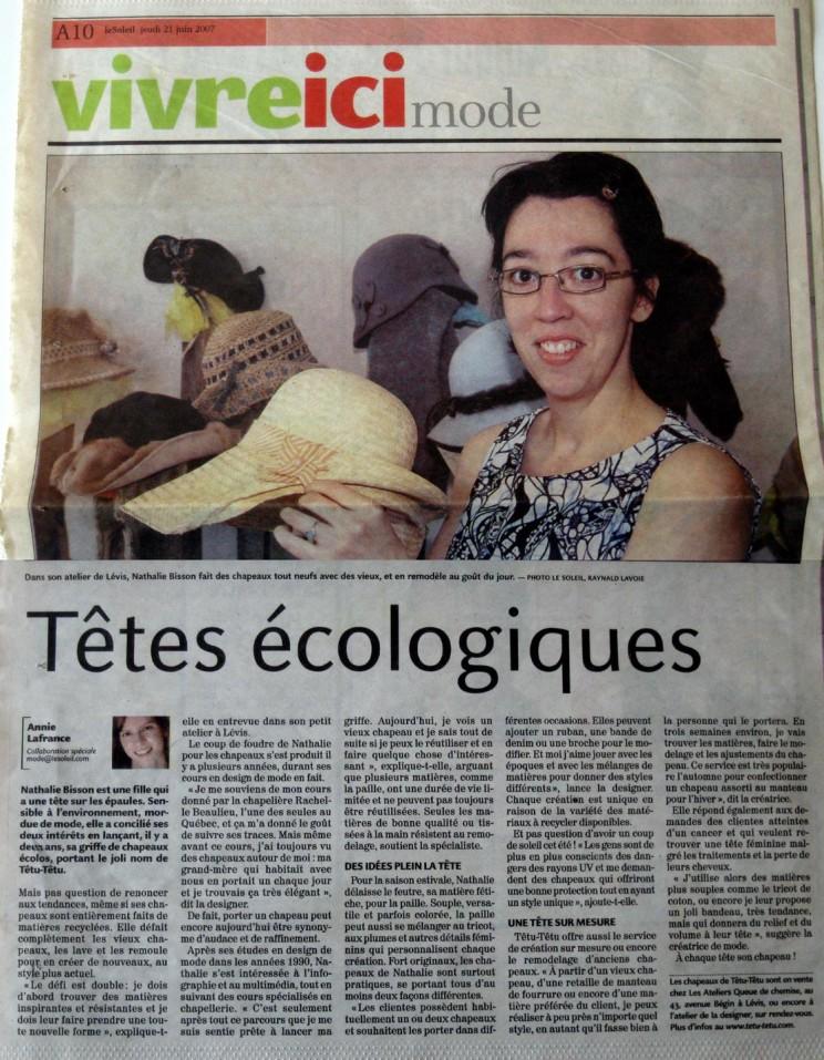 dossier de presse - Têtu-Têtu