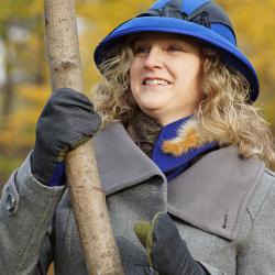 Chapeau de feutre bleu intense - Têtu-Têtu