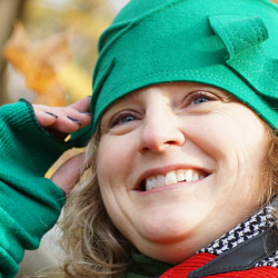 Chapeau de feutre vert - Têtu-Têtu