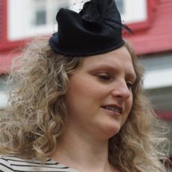 Bibi noir avec voilette - Têtu-Têtu