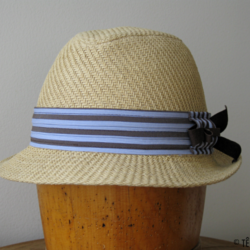 Chapeau de paille beige - Têtu-Têtu