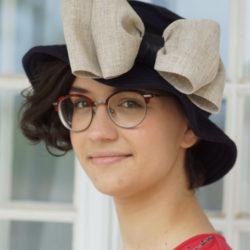Chapeau de tricot de coton marine - Têtu-Têtu