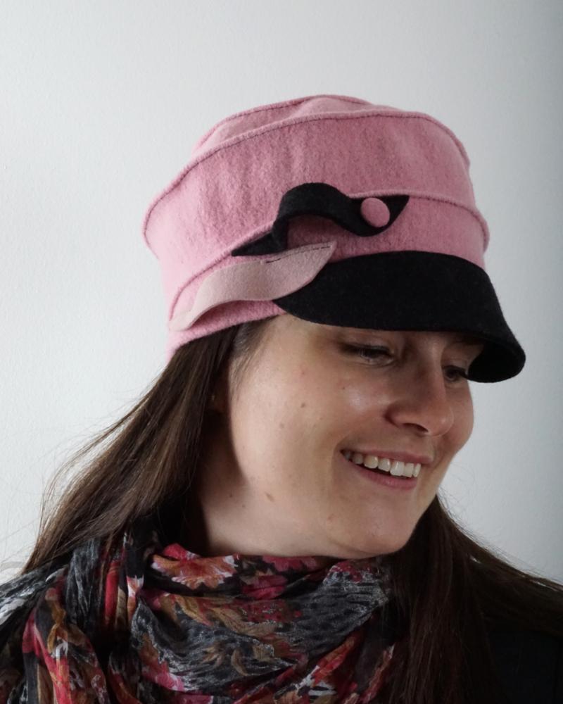 Chapeau souple rose - Têtu-Têtu