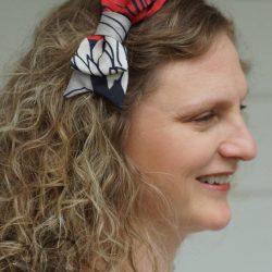 Boucle pour cheveux en tissu - Têtu-Têtu