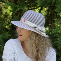 Chapeau d'été blanc cassé - Têtu-Têtu